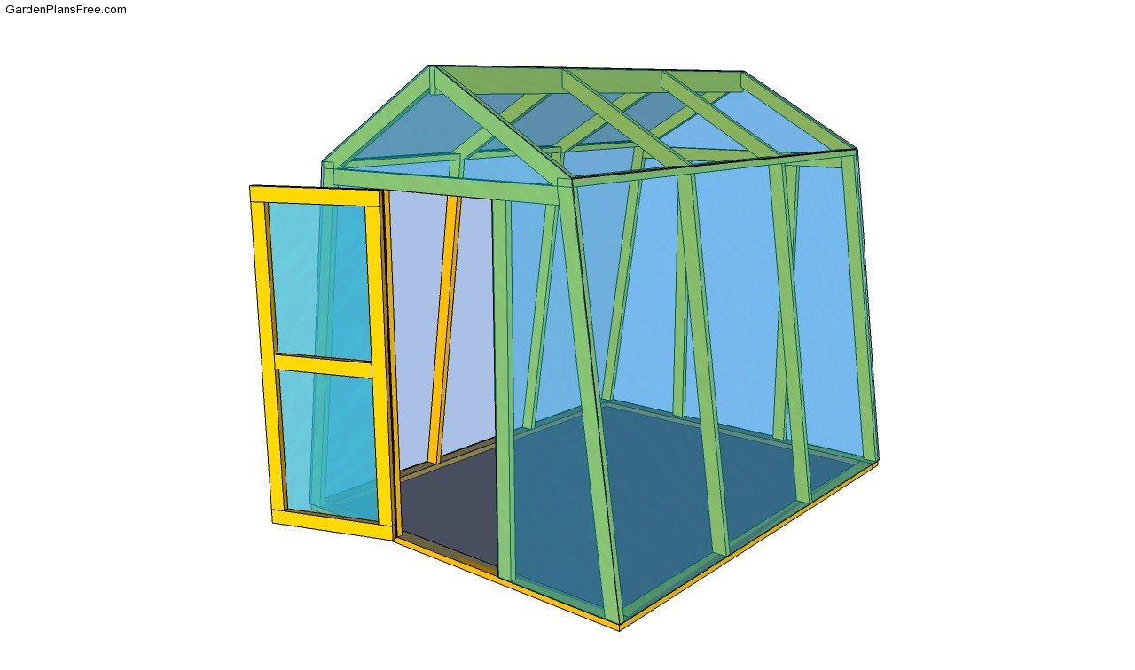 Mini greenhouse plans free small greenhouse plans free for Lean to greenhouse plans free