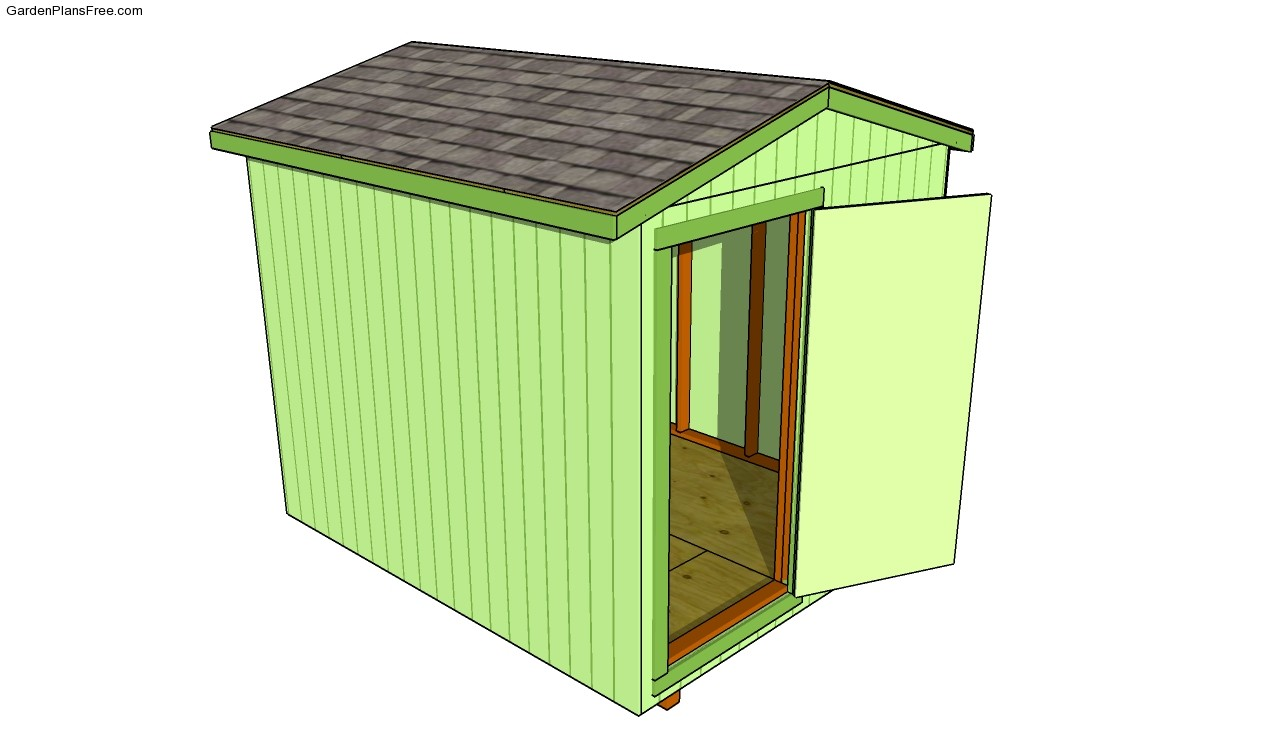 Building A Shed Roof Free Garden Plans How To Build Garden Projects